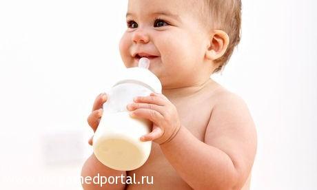 Грудничок с молоком