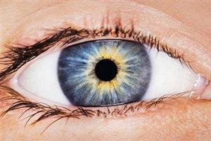 Глаза реагируют самостоятельно