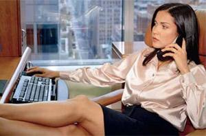 Мужской тип поведения вредит карьере женщины