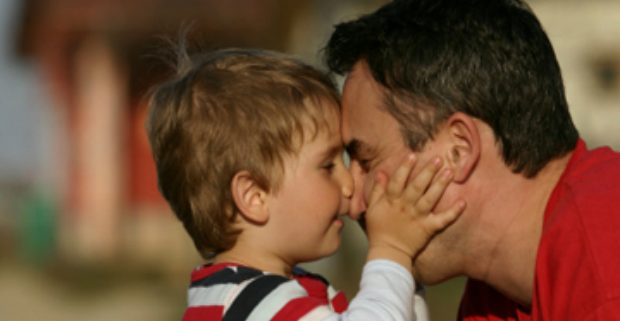 relationship with his father