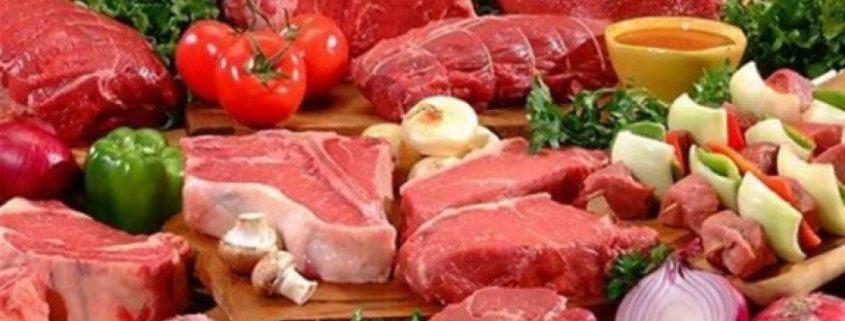 красное мясо и печень