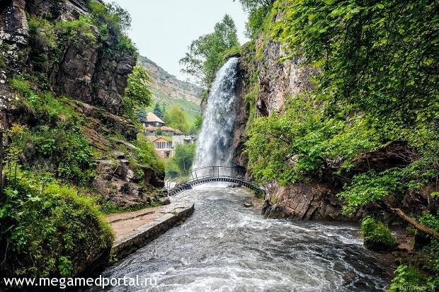 Кисловодские водопады