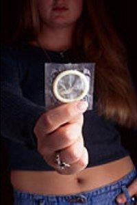 Применение презерватива