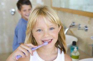 Зубная щетка для ребенка