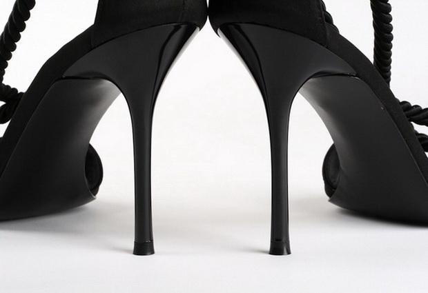 Каблуки вредят женскому здоровью