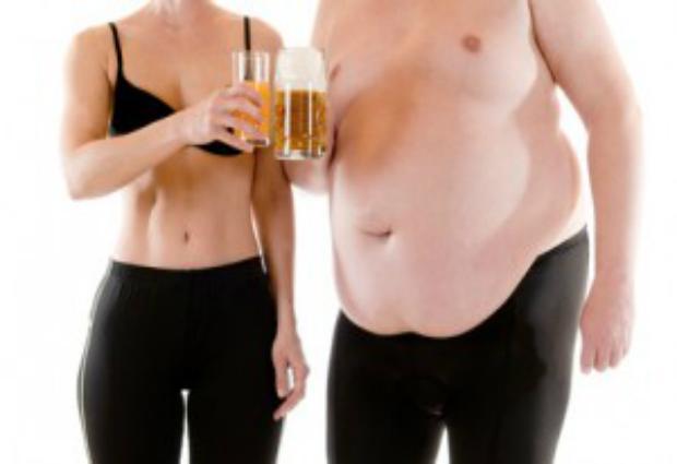 Женщины толстеют из-за замужества, а мужчины из-за карьеры