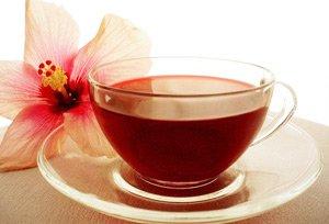 Чай каркаде укрепляет стенки сосудов