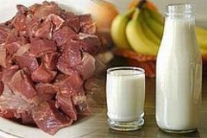 Мясные и молочные продукты приводят к инфаркту