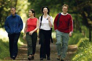 Сорокаминутная пешая прогулка – гарантия здравого ума