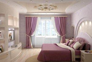 Цвет спальни очень важен для психики человека