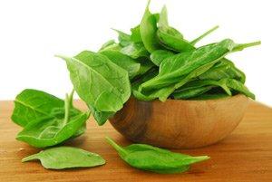 Овсянка и шпинат заряжают энергией